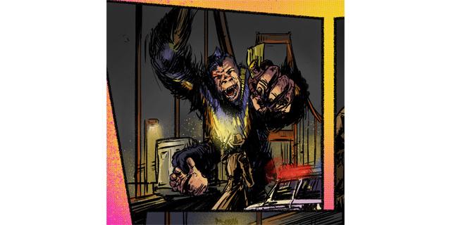 Klay by Lex Wilson and Jason Strutz - Panel 2